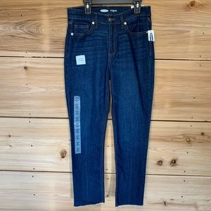 """Old Navy """"The Power Jean"""" Straight ankle • size 4"""